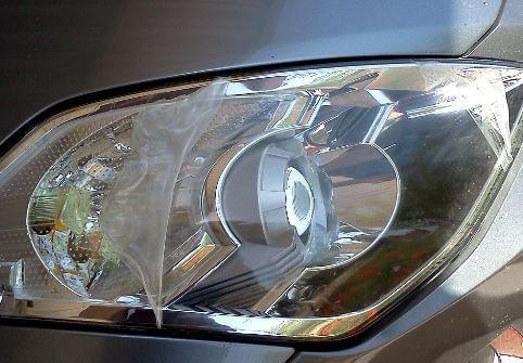 Repair a Broken Headlight