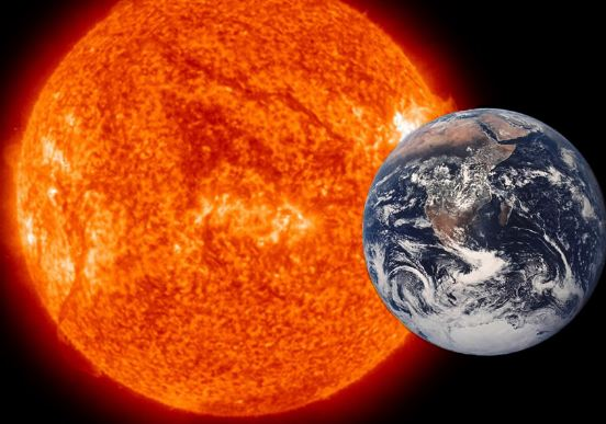 How much Bigger is the Sun than the Earth