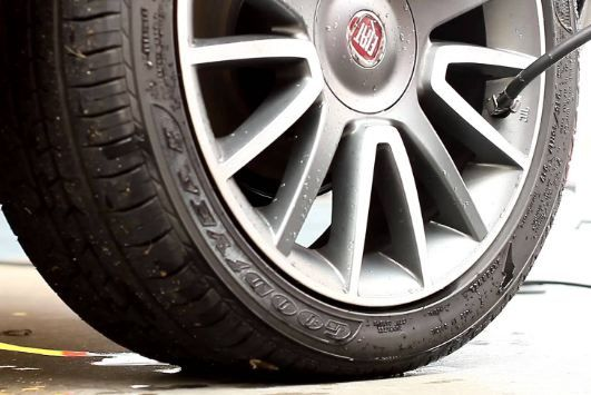 how to balance tires at home