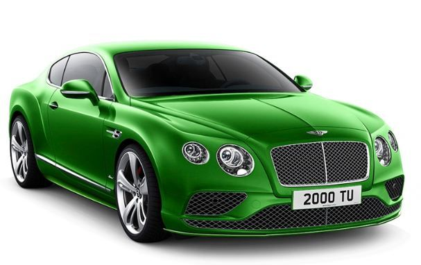 2015 Bentley Continental gt MSRP