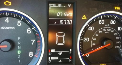 What does TPMS mean on a Honda CRV