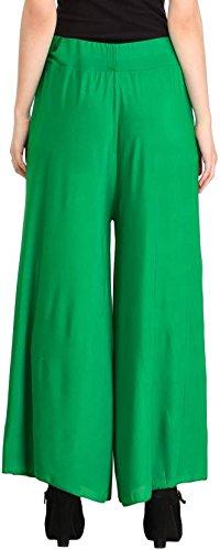 %Green Plazzo pant
