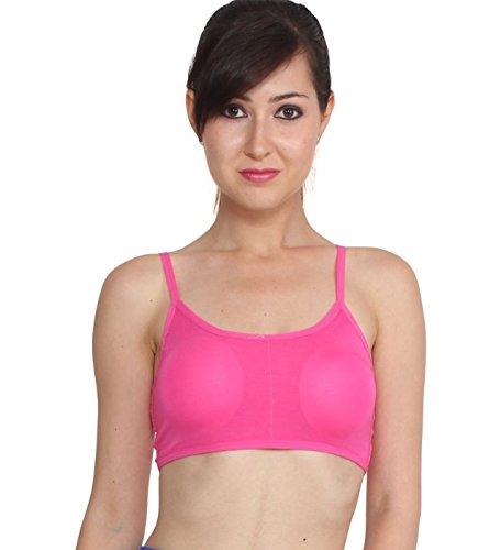 %pink six strap bra