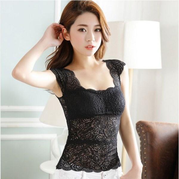 %floral lace top