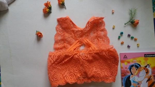 %orange net bra