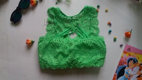 %green net bra