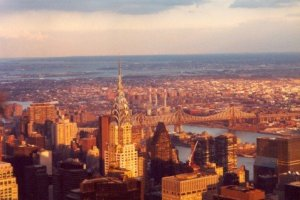 View over New York