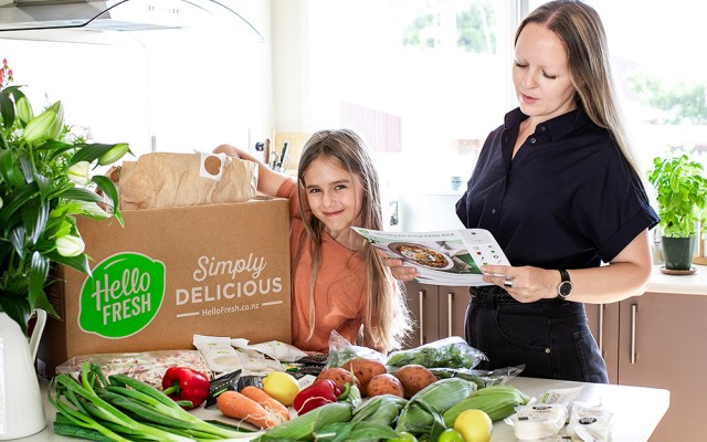 HelloFresh for a busy mom.