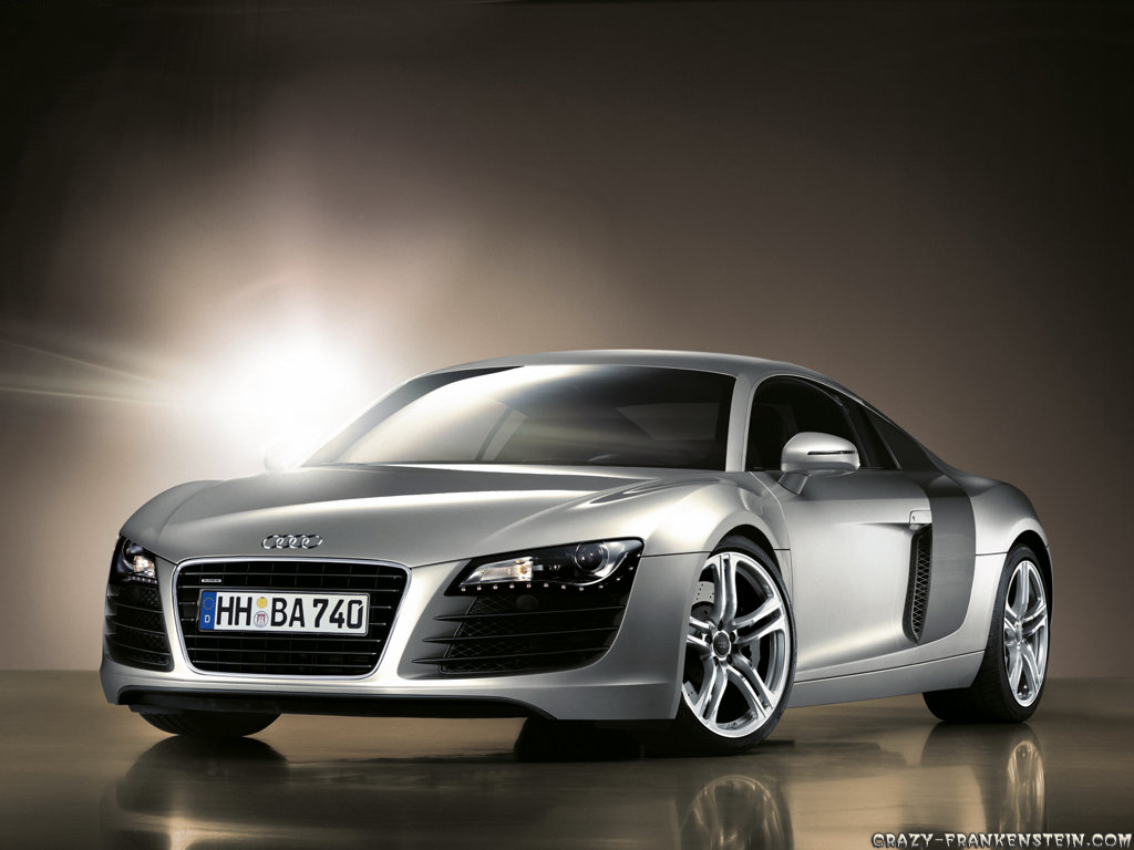 Wallpaper: Audi R8 Resolution: 1024x768 | 1600x1200. Size: 218 KB | 423 KB