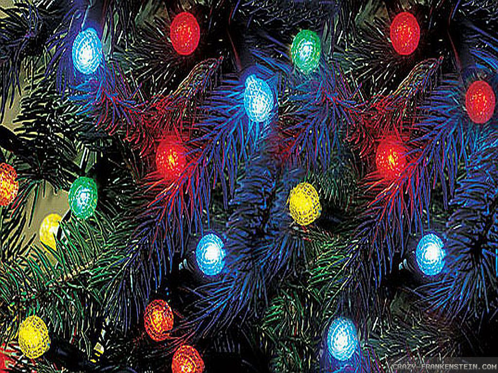 Free Xmas Wallpapers Animated Christmas Lights Wallpapers 2 Crazy Frankenstein