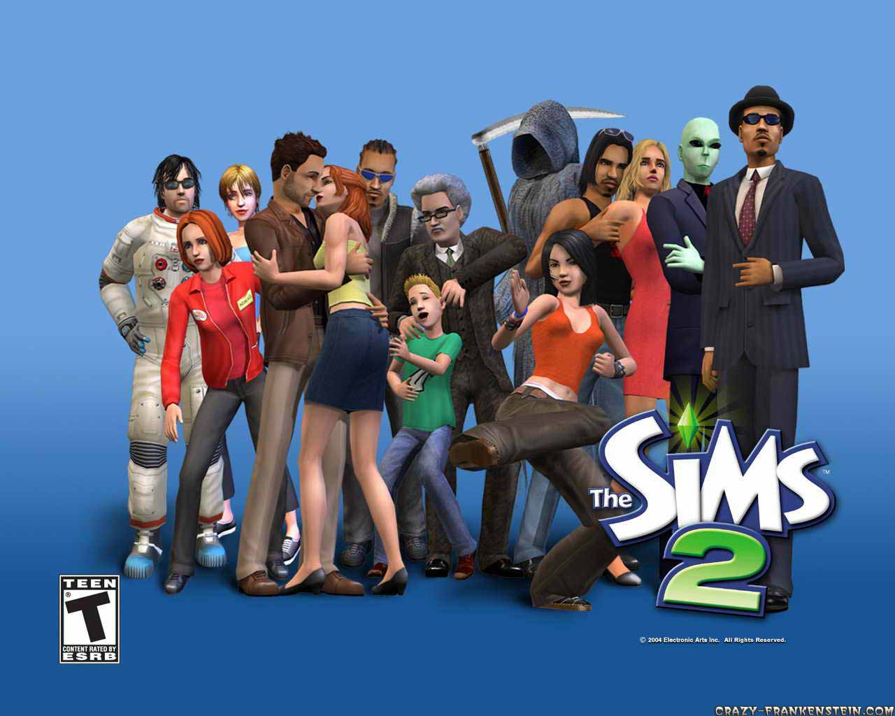 Wallpaper: The Sims 2 - Games wallpaper. Resolution: 1024x768. Size: 117 KB