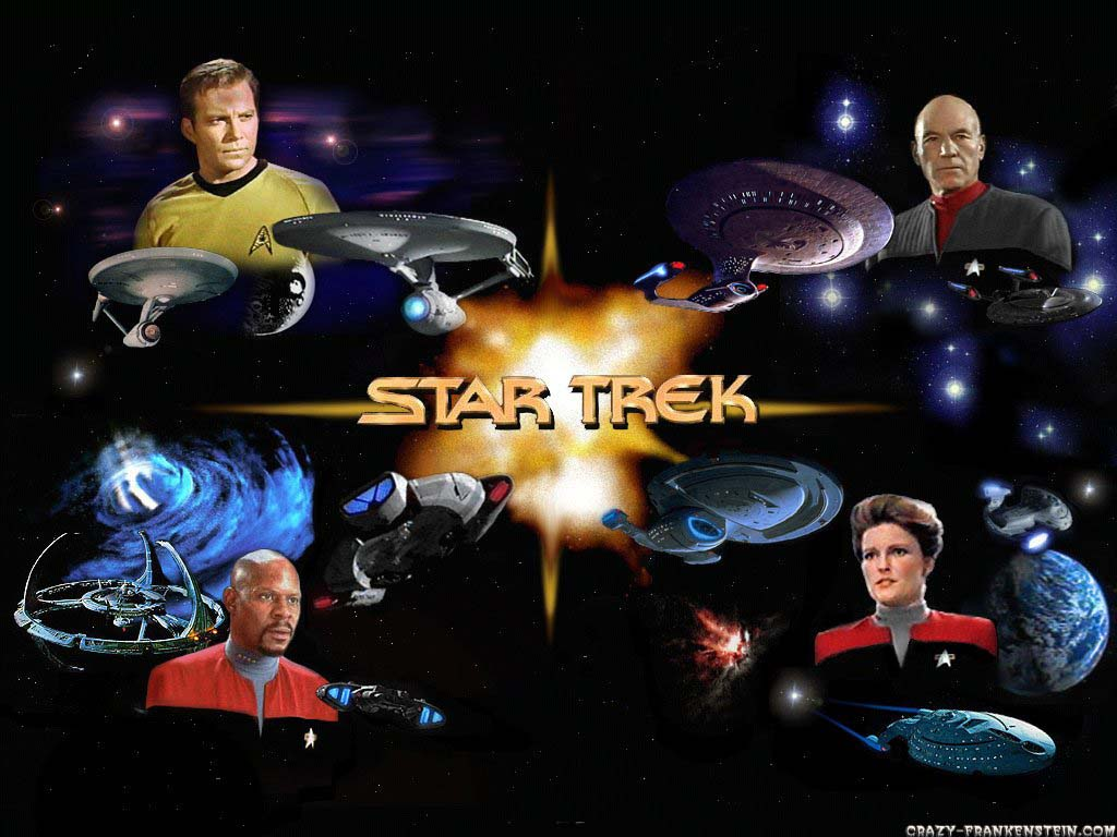 Wallpaper: Star Trek - wallpaper 2. Resolution: 1024x768. Size: 122 KB
