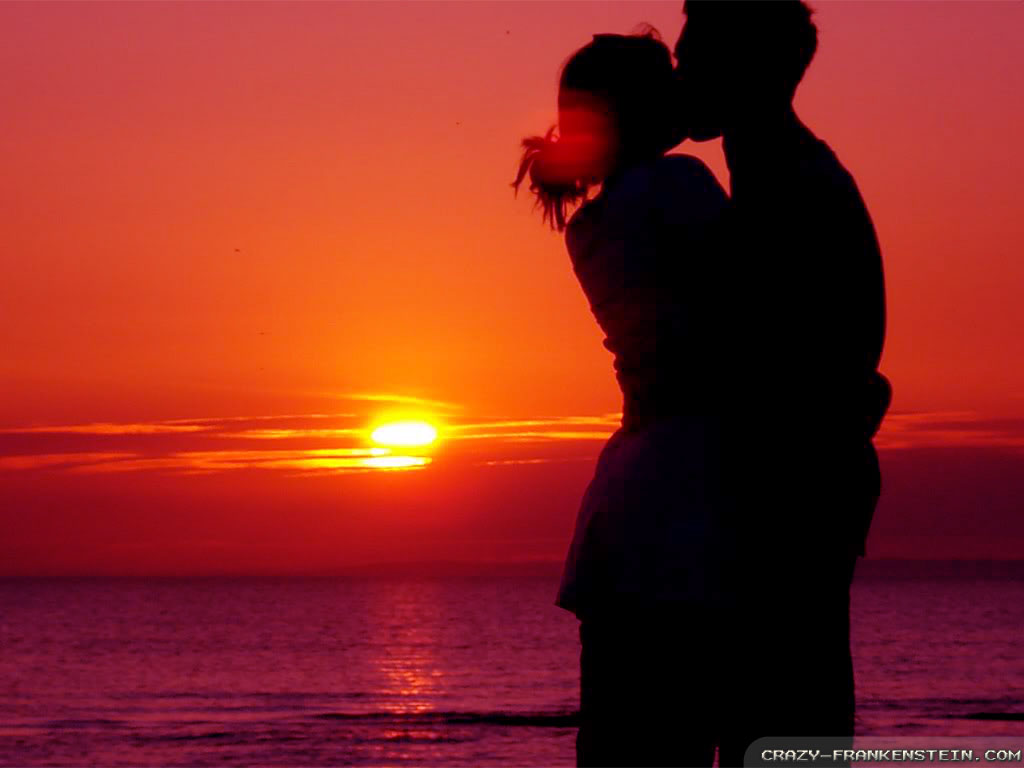 Sweet Girl And Boy Hd Wallpaper Romantic Sunset Wallpapers Crazy Frankenstein