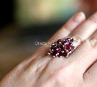 Делаем кольцо своими руками «Праздничный салют»
