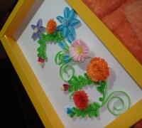 Картина из цветов своими руками