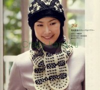Комплект — шапка и шарфик