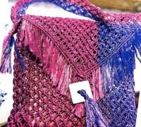 Плетенная сумочка своими руками