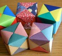 Мастер-класс: оригами куб