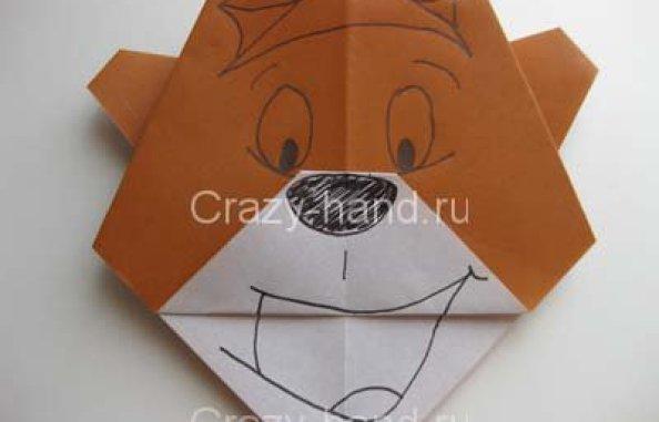 13-origami-bear-face