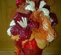 Плетение цветов из газет своими руками