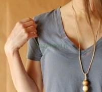 Простое ожерелье своими руками