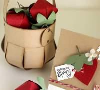 Подарочная корзинка своими руками