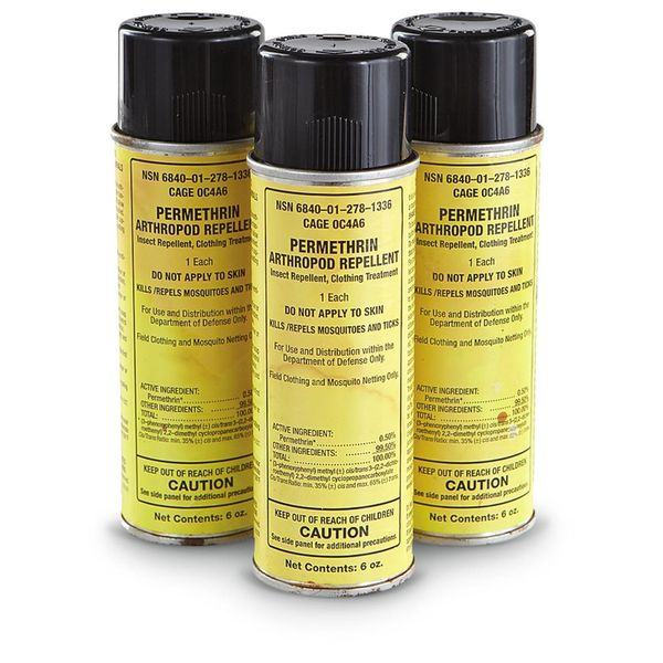 Permethrin Bug spray for clothing
