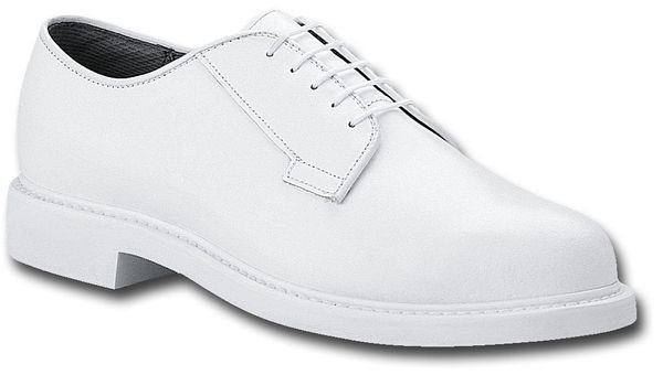 USN Officer White Oxford low quarter dress shoes size 12EEE