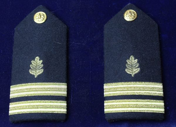 US Navy Medical Service Officer Shoulder Boards