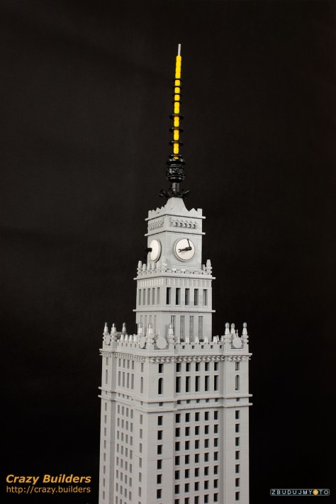 Palace of Culture and Science in LEGO by Jetboy of Zbudujmy.to