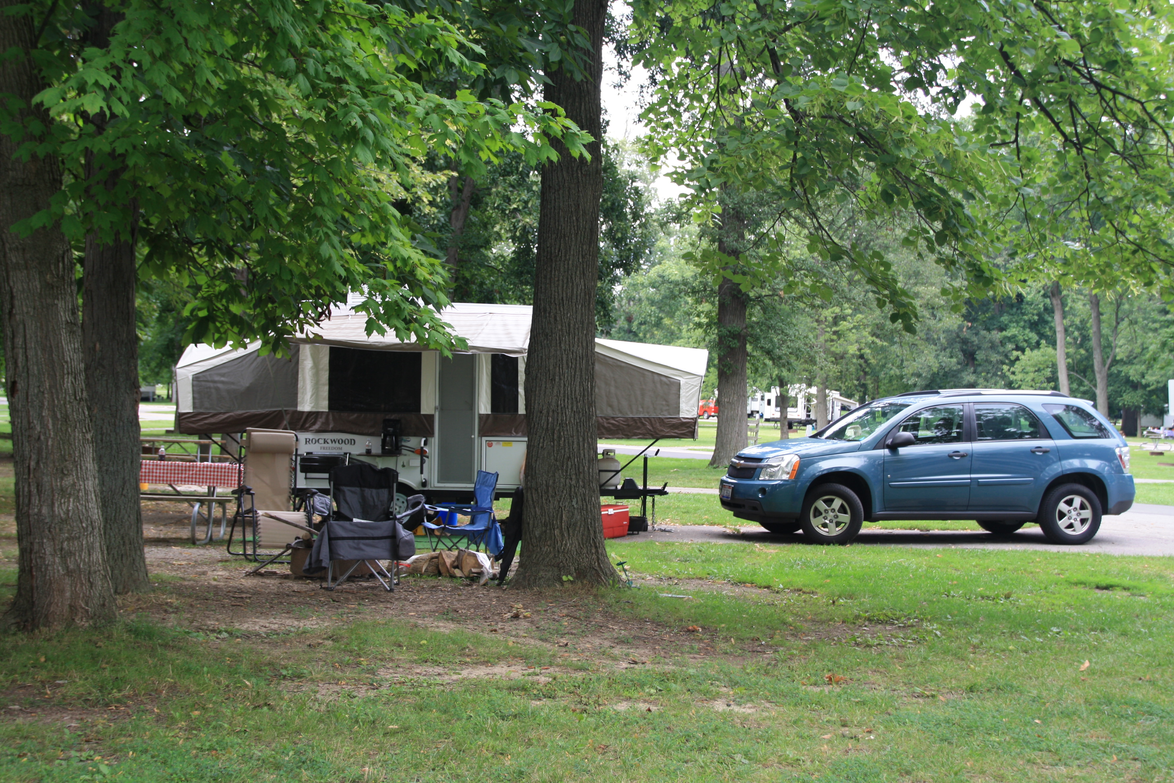 Indian lake state park lakeview oh crazy4camping for Marshalls cedar park