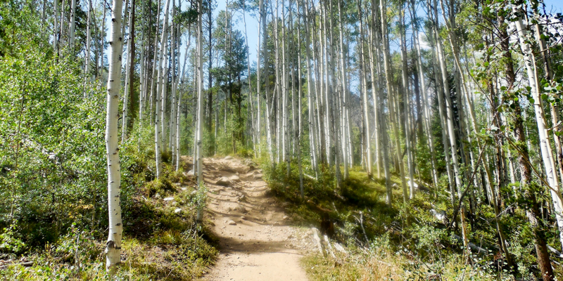 Breck, Frisco, Silverthorne, Dillon, Four Trails in One Day