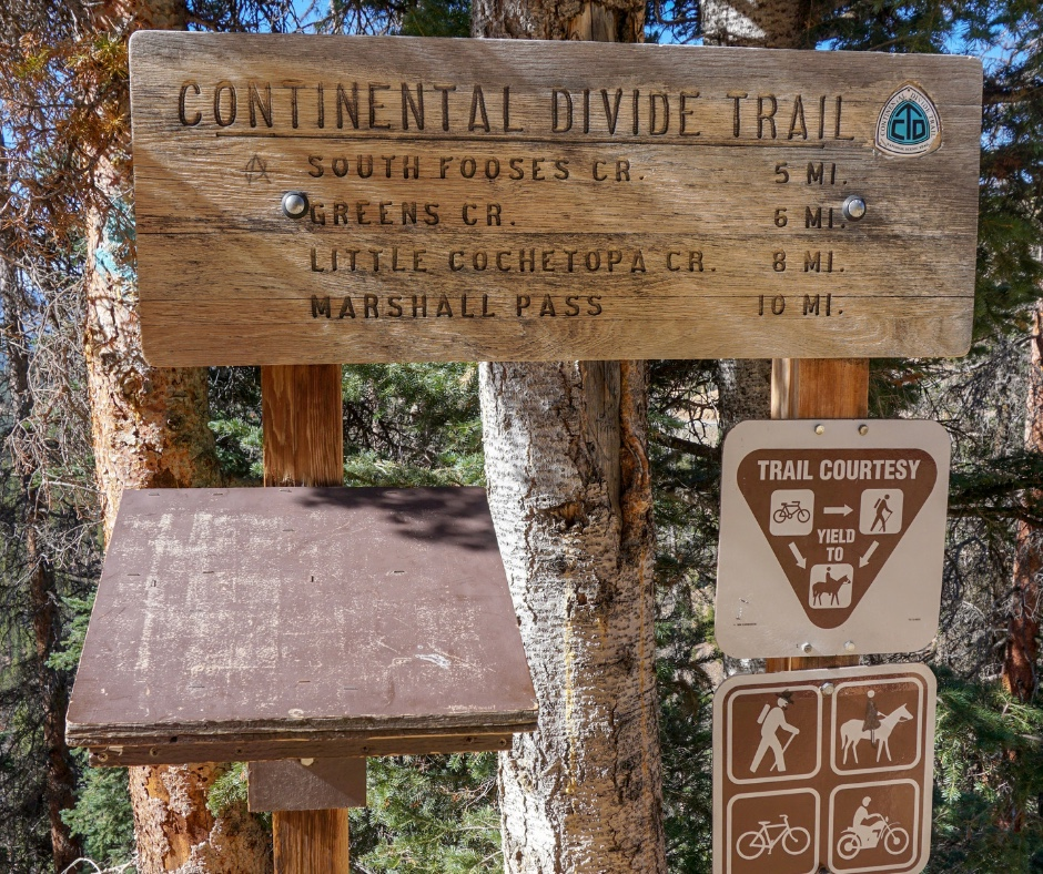 hiking the Continental Divide Trail, Monarch Pass, Colorado hikes at timberline, best MTB trails in Colorado, Monarch Crest