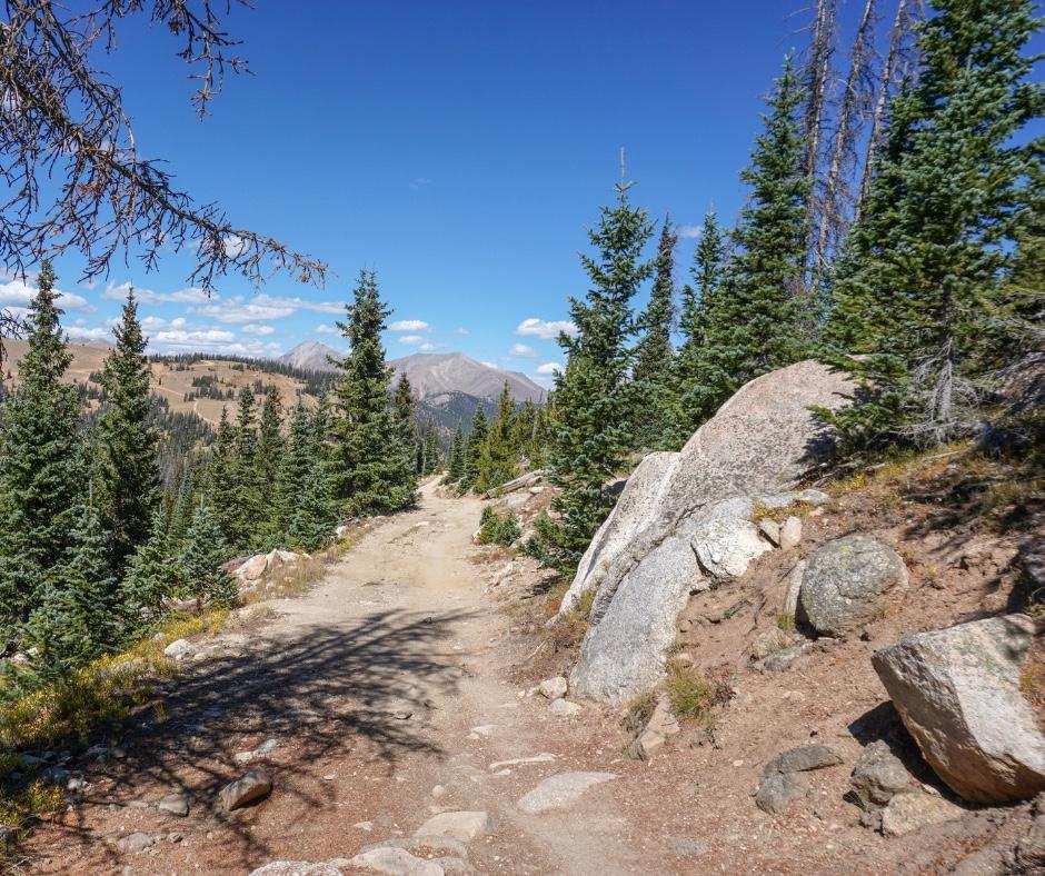 Best MTB trails in Colorado, Monarch Crest Trail, Monarch Pass, Colorado hikes, Best hikes in Colorado, Hidden gems in Colorado