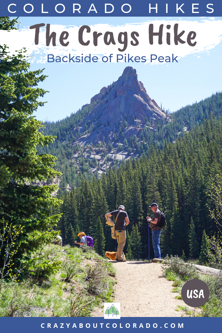 Where to hike near Colorado Springs, The Crags, Horsetheif Falls, Devils Thumb Trail, Hiking, hiking trails, best hikes in Colorado Springs, Get outside, Woodland Park Trails, Divide Trails, Colorado, Colorado hikes, hiking trials in Colorado,