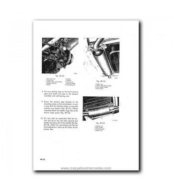 Mercedes Benz Service Manual Maintenance, Tuning, Unit