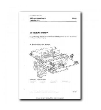 Mercedes Benz Benz Werkstatt-Handbuch PKW-Typen 1968