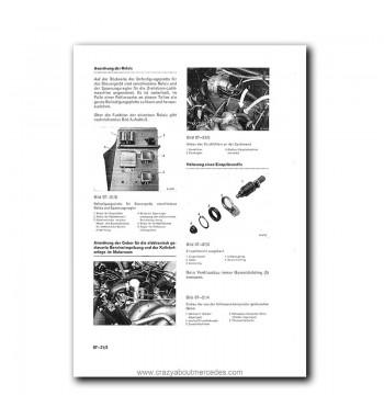 Mercedes Benz Benz Werkstatt-Handbuch PKW-Typen ab 1968