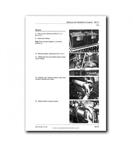 Mercedes Benz Workshop Manual UNIMOG 403, 406, 413, 416