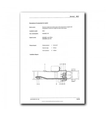 Mercedes Benz Workshop Manual UNIMOG 403, 406, 413, 416