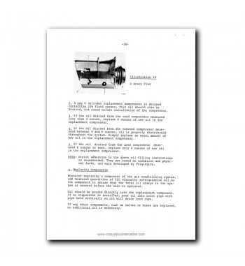 Manual Mercedes Benz Six-Cylinder Frigidaire Air