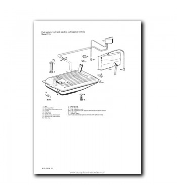 Mercedes Benz Service Manual Engines M 115