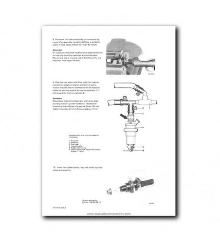 Mercedes Benz Service Manual V-8 Engines M116 (3.5), M117