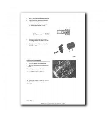 Mercedes Benz Service Manual Engine 617.95 Turbo Diesel