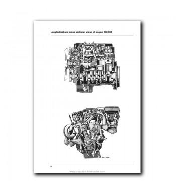 Mercedes Benz Service Manual Supplement Engine 102.983