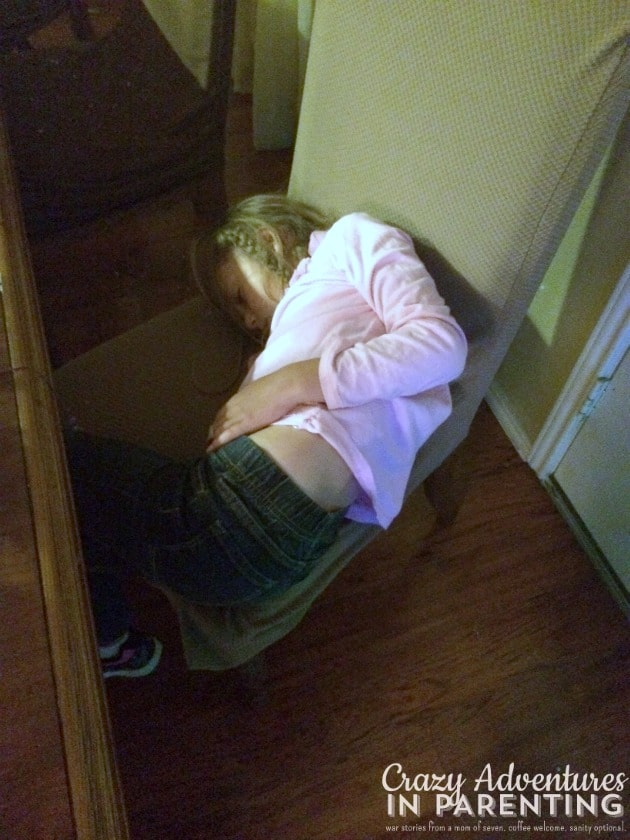 Kids Sleep Anywhere The Baby Indoctrination
