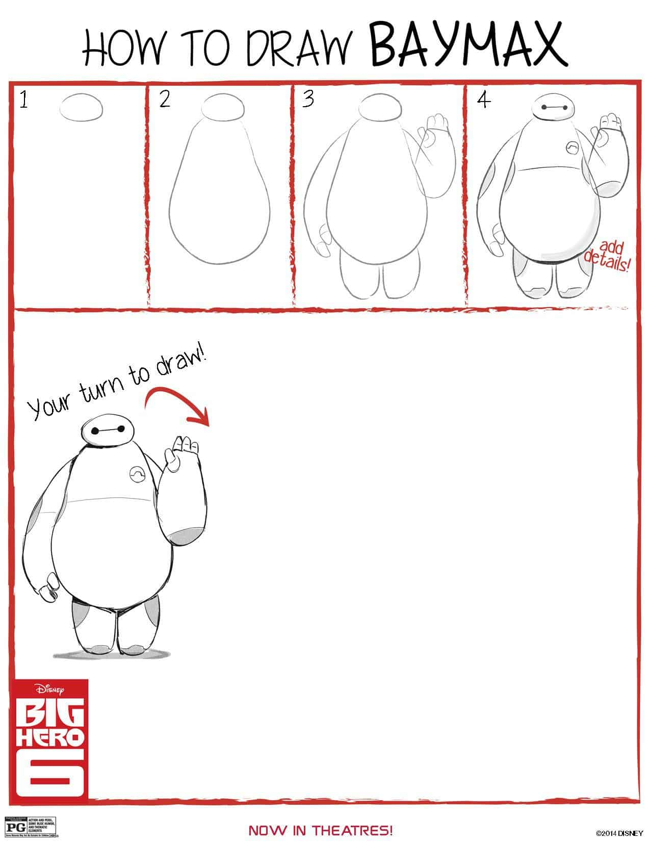 Free Big Hero 6 Coloring Amp Activity Pages
