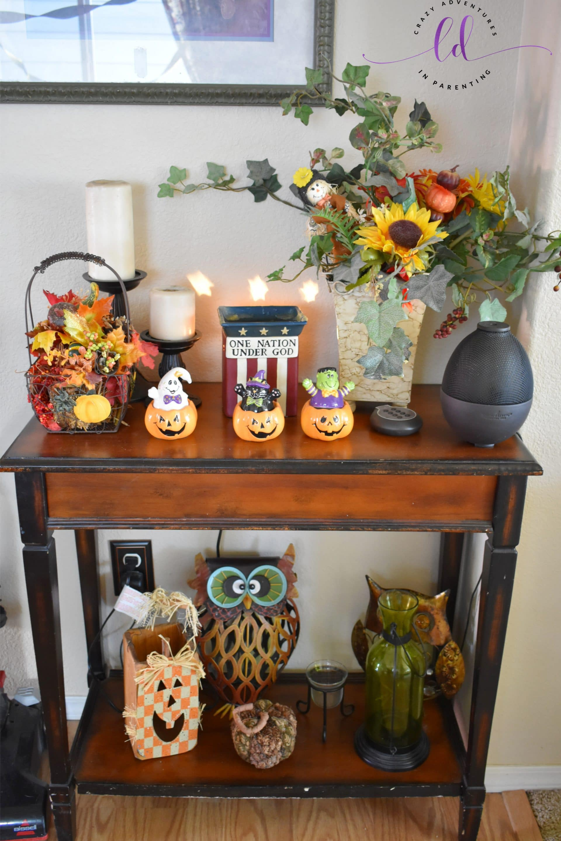 our halloween and fall decor 2018