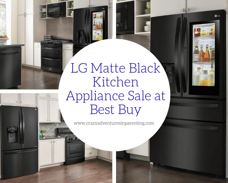 best buy kitchen appliances free standing island gorgeous lg matte black at crazy