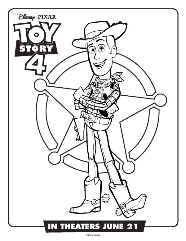 buzz lightyear coloring page # 44